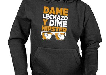 Sudadera Sonorama Aranda «Dame Lechazo y Dime Hipster»