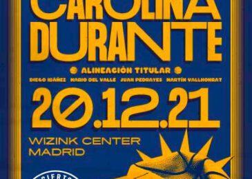 Fin de gira de Carolina Durante en el WiZink Center de Madrid