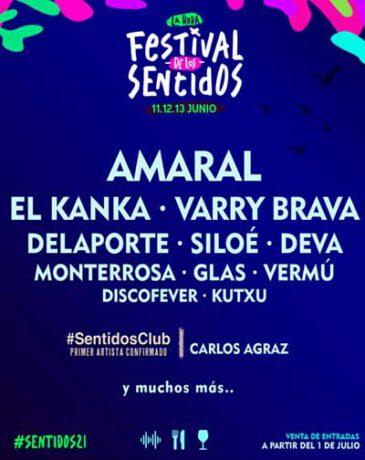 Abono Festival de los Sentidos 2022 (La Roda)