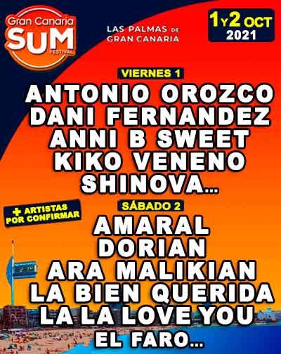 Gran Canaria Sum Festival 2021