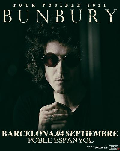Concierto Bunbury Barcelona