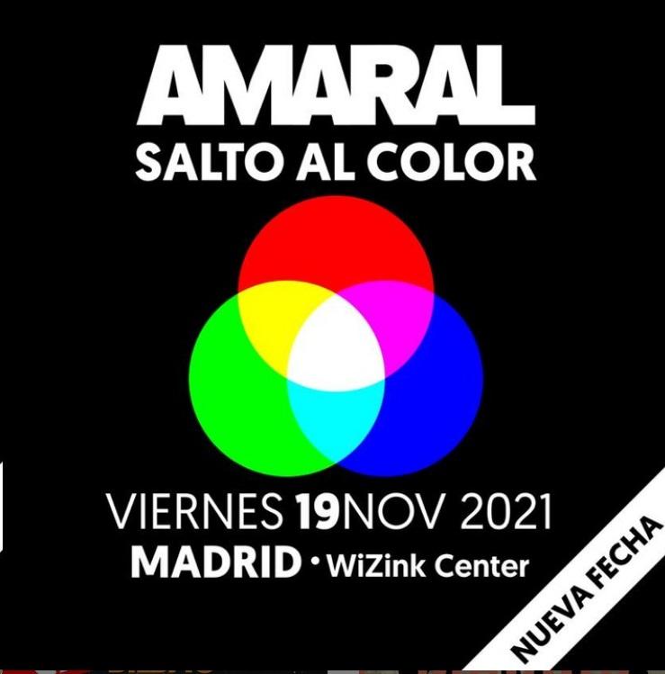 Entradas Concierto Amaral en Madrid