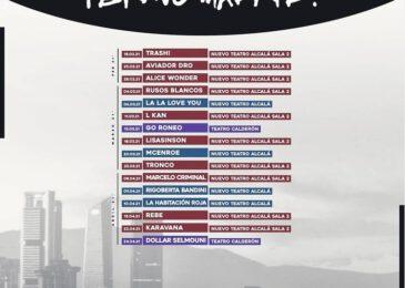 16 fechas y nombres confirmados en ¡Bravo Madrid!