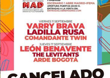 Cancelado SonoraMAD Ribera
