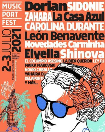 Avance de cartel de Music Port Fest 2021
