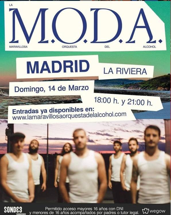 Cuarta fecha de La MODA en Madrid
