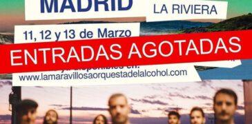 La MODA agota en minutos todas las entradas para su triple cita doble en Madrid