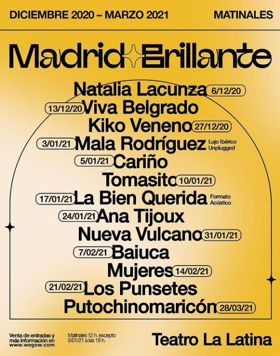 Nace el Festival Madrid Brillante