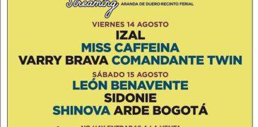 El Sonorama Ribera Streaming tampoco será posible