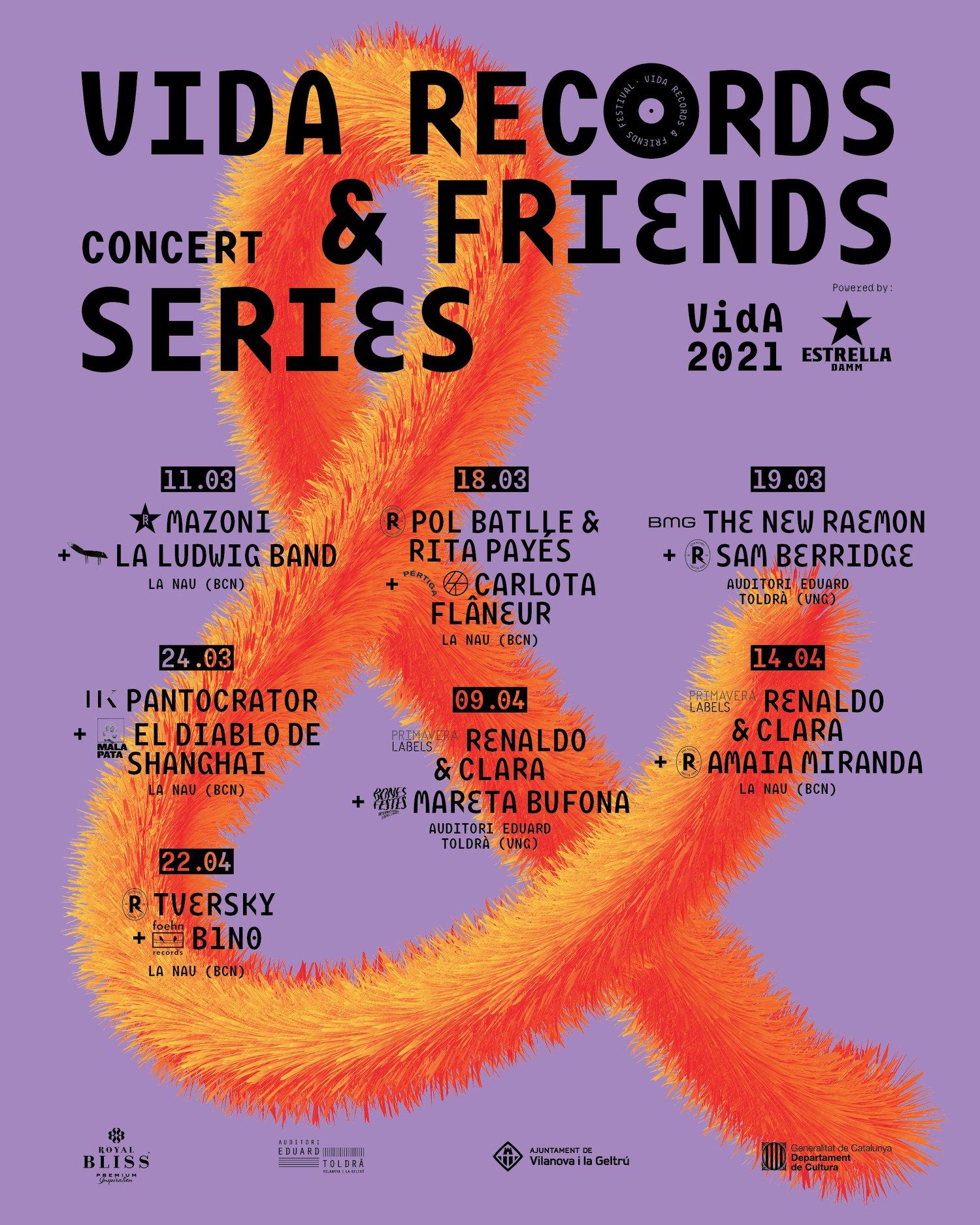 Nace Vida Records & Friends