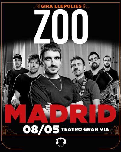 Zoo concierto Madrid