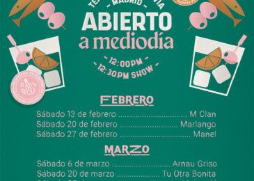 Ciclo Abierto a Mediodía en Madrid