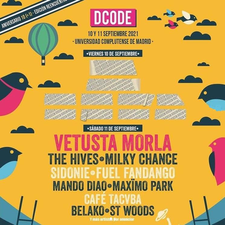 Cartel DCODE 11 de septiembre