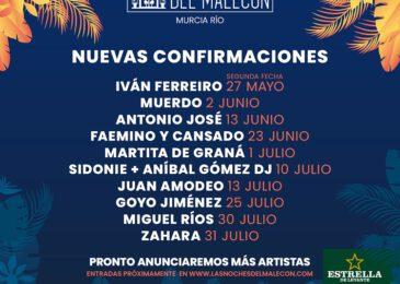 Las Noches del Malecón suma nuevos nombres a su tercera edición