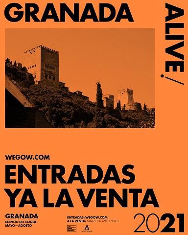 Entradas Granada alive 2021