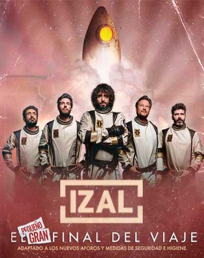 Izal - El Pequeño Gran Final del Viaje en Madrid