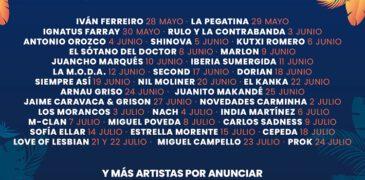 Las noches del Malecón 2021 anuncia más de 30 conciertos en dos meses de programación.