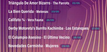 Tomavistas Extra 2021: 8 noches y 16 artistas en Madrid.