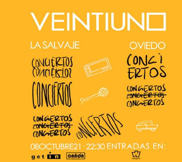 Veintiuno Concierto Oviedo 8 de octubre 2021