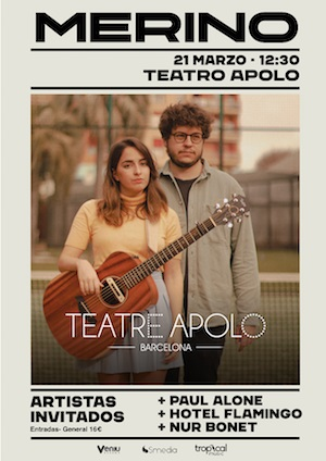 Merino Teatro Apolo Barcelona