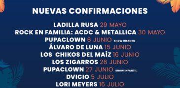 Las Noches del Malecón anuncia más artistas para su tercera edición