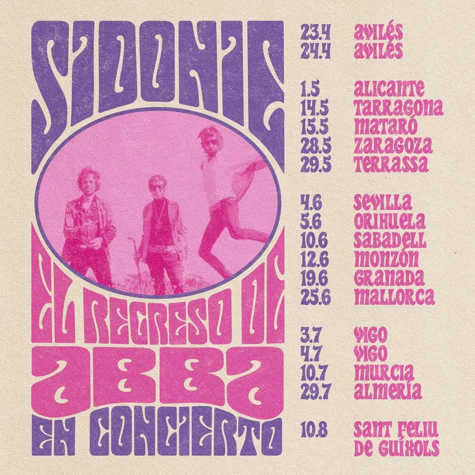 Sidonie gira El Regreso de Abba