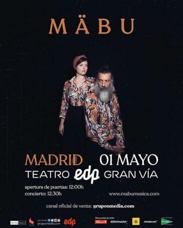 Entradas concierto Mäbu en Madrid