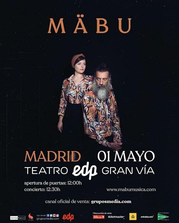 Mabu Concierto 1 de Mayo Madrid