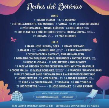Vuelven las Noches del Botánico a Madrid