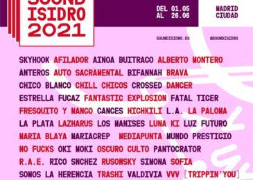 Sound Isidro de Madrid anuncia el cartel de su octava edición 2021