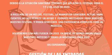 Music port Fest se aplaza a 2022