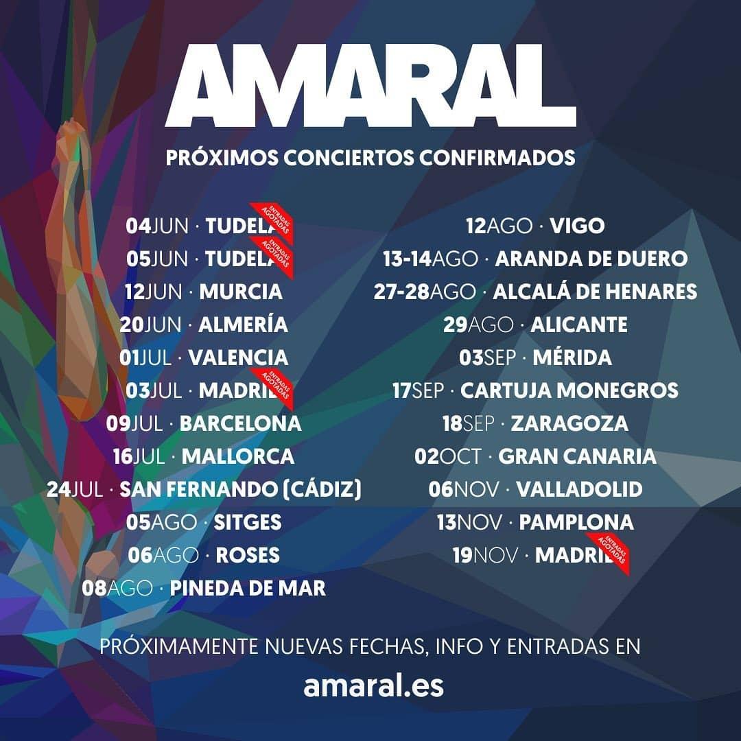 Gira Amaral 2021