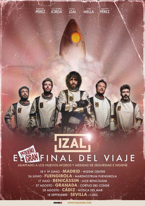 Izal El Pequeño Gran Final del Viaje