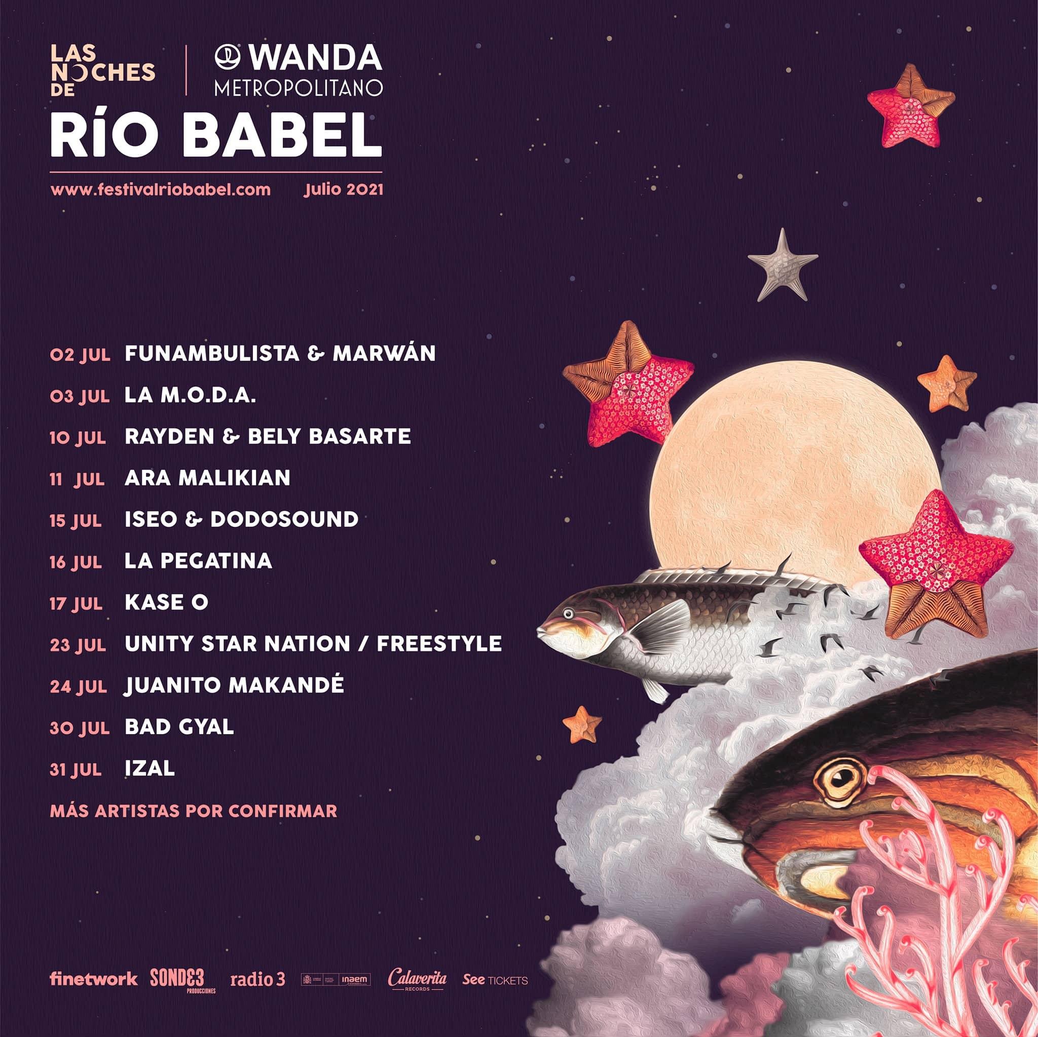 Las Noches de Rio Babel 2021