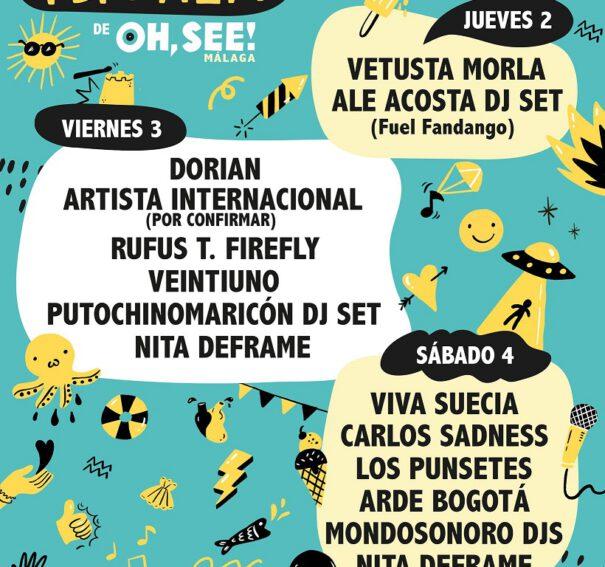 La Terraza de Oh, See! de Málaga ya tiene cartel