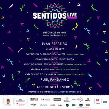 Festival de los Sentidos lanza el ciclo Sentidos Live con Iván Ferreiro, Fuel Fandango, Arde Bogotá…