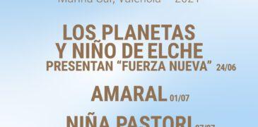 Nace Sons al Mediterrani, un nuevo Ciclo de Conciertos en La Marina de Valencia