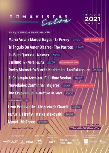 Tomavistas Extra suma a León Benavente, Joe Crepúsculo y Rufus T. Firefly entre otros