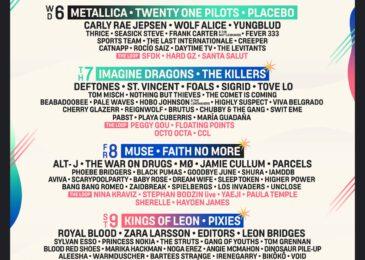 Metallica, Muse, Imagine Dragons, Kings of Leon, Placebo y muchos más estarán en Mad Cool 2022