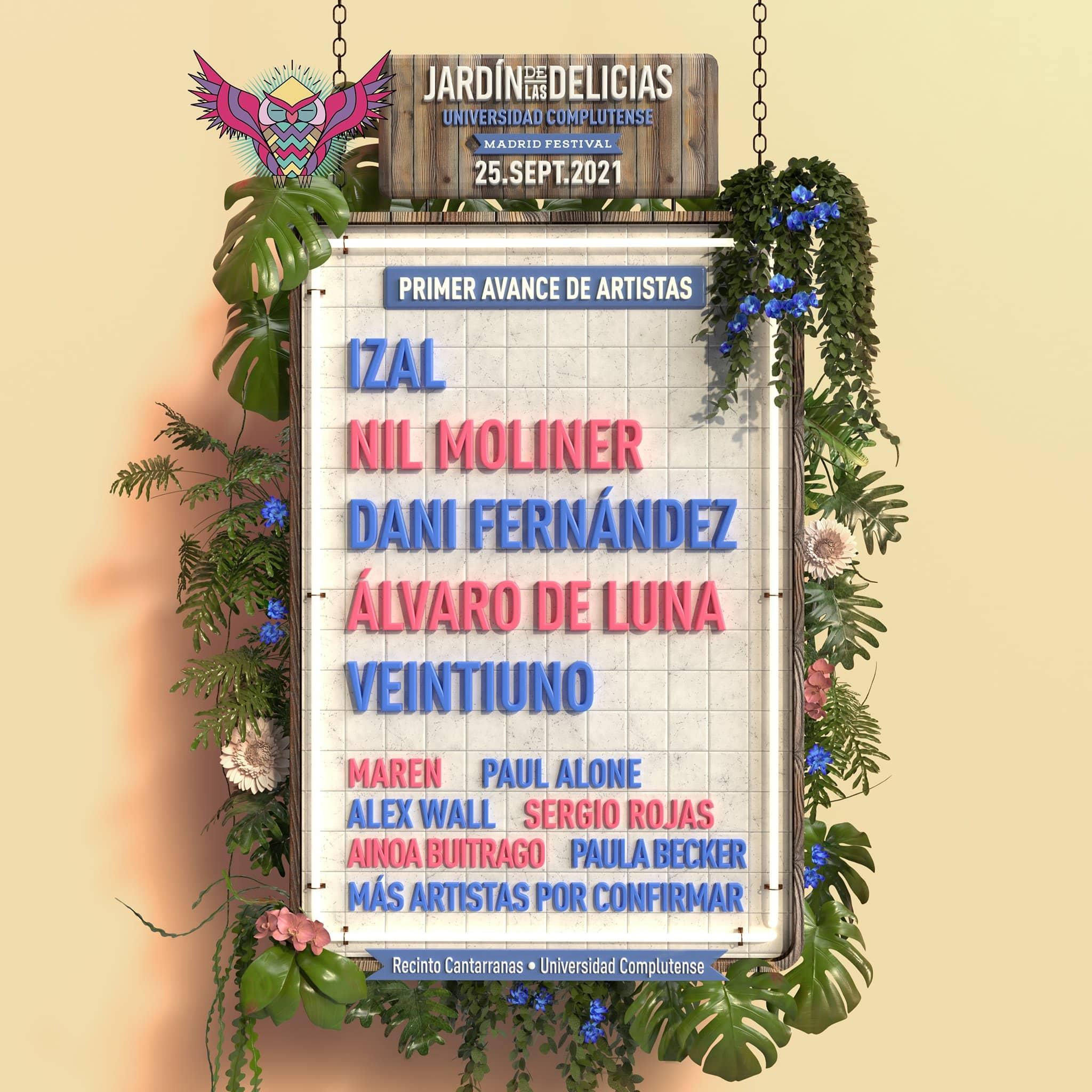 Jardin de las Delicias 2021