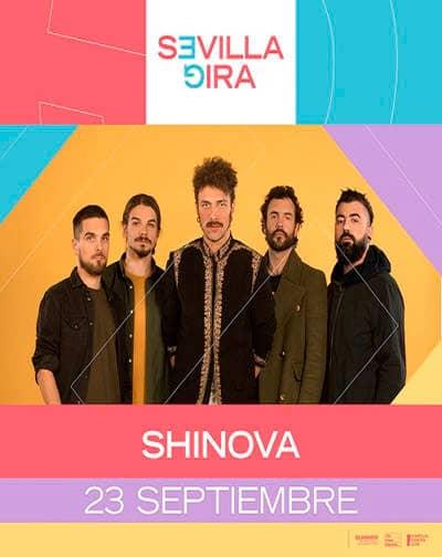 Shinova Sevilla Gira 23 septiembre 2021