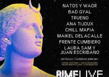 En octubre vuelve Bime Live
