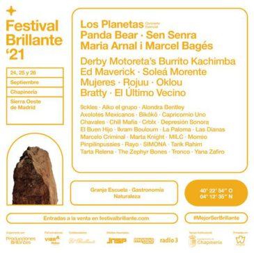 Entradas Festival Brillante 2021