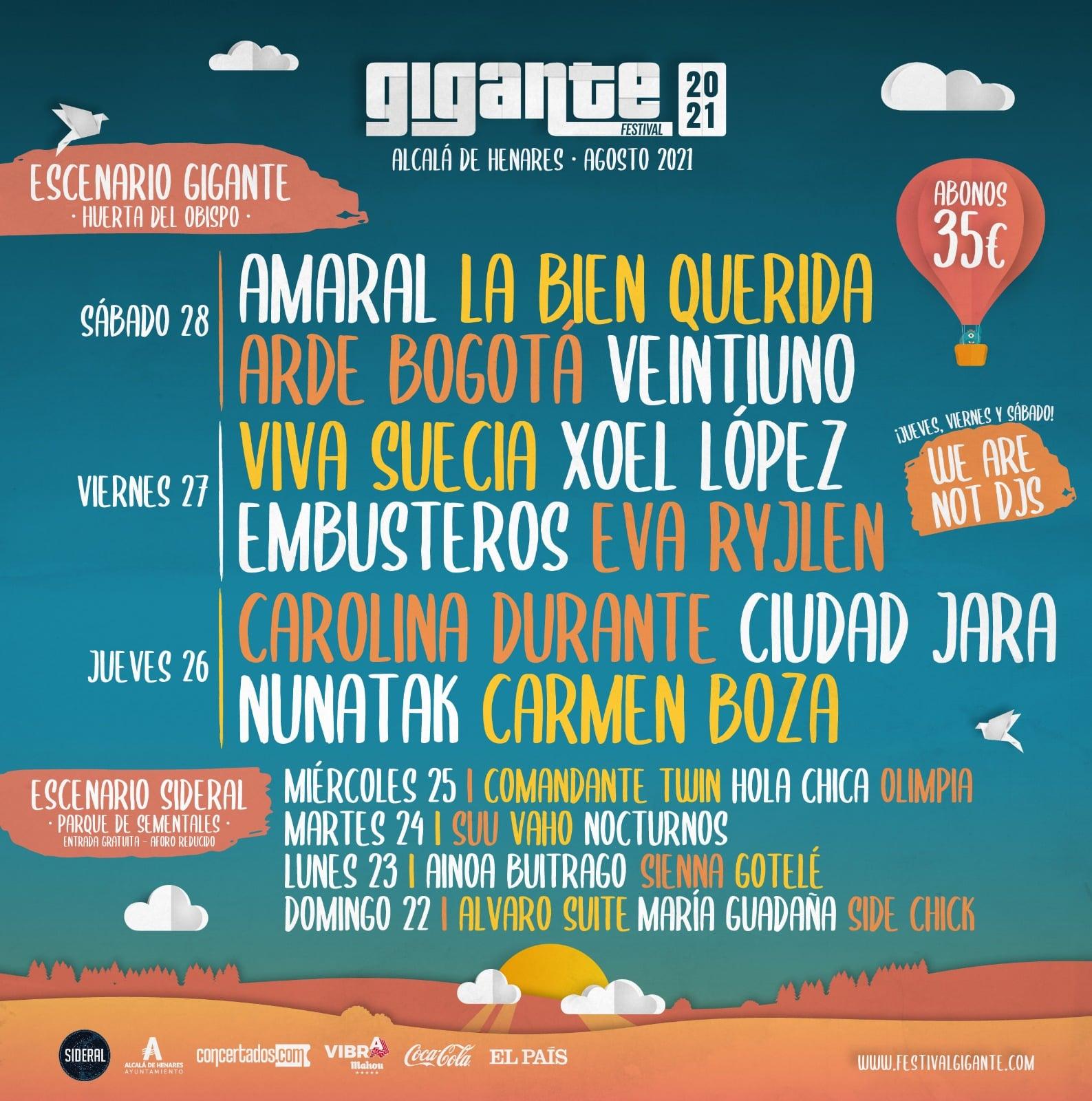 Festival-gigante-2021-cartel-por-dias