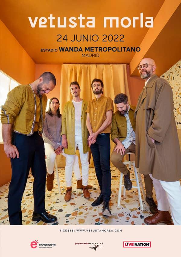 Vetusta Morla Wnada Metropolitano 2022