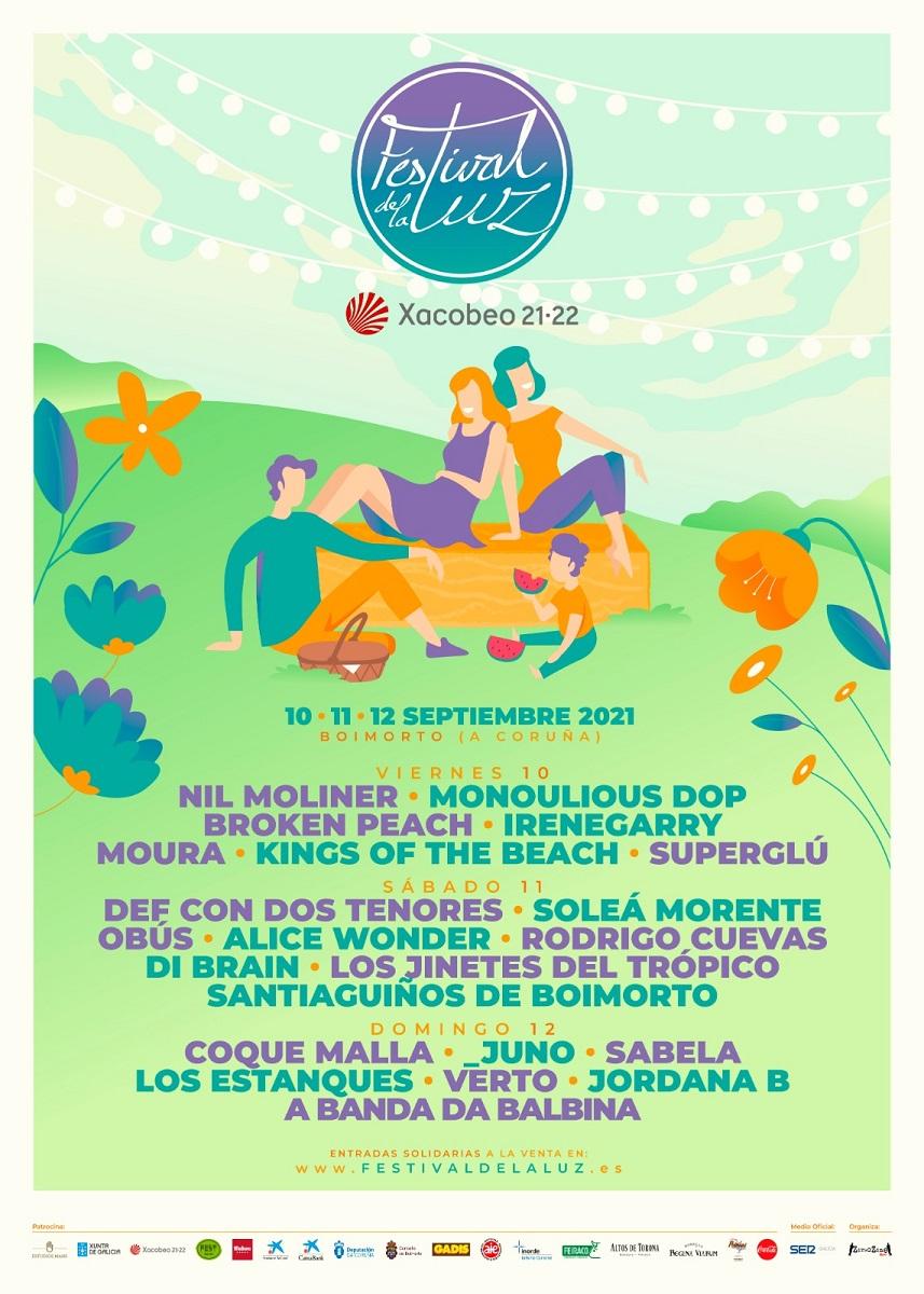 Cartel Festival de La Luz 2021