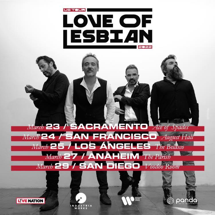 Love of Lesbian VEHNUSATOUR2022