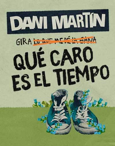 Entradas Gira Dani Martin 2021