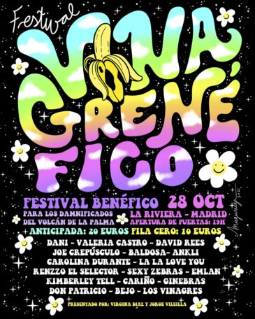 El festival Vinagrenéfico cierra su cartel con Bejo y Don Patricio