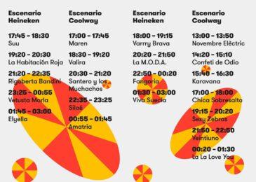 Horarios Festival de Les Arts 2021